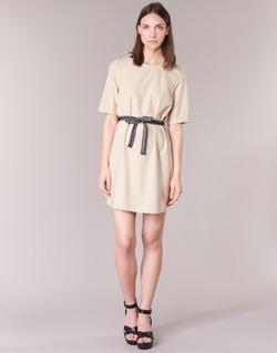 material Women Short Dresses Vero Moda MILO SUKI Beige