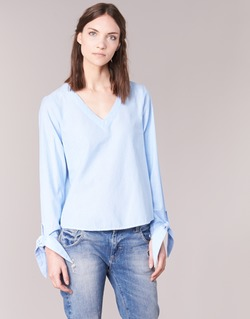 material Women Blouses Vero Moda ELVA Blue