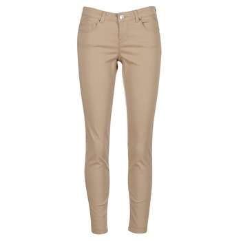 material Women 5-pocket trousers Vero Moda BUENO Beige