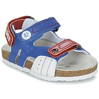Shoes Boy Sandals Chicco HELIO Blue / White / Red