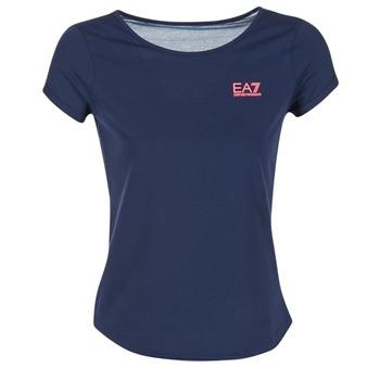 material Women Blouses Emporio Armani EA7 TRAIN GRAPHIC Blue