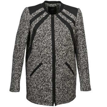 material Women coats Yas TRINA Grey