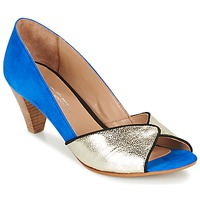 Shoes Women Court shoes Betty London GABYN Blue / Gold