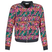 material Women Jackets / Blazers Noisy May JUNGLE Multicoloured