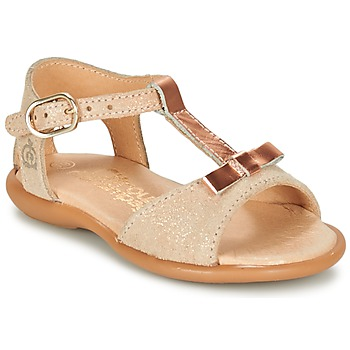 Shoes Girl Sandals Citrouille et Compagnie GUGULE Gold