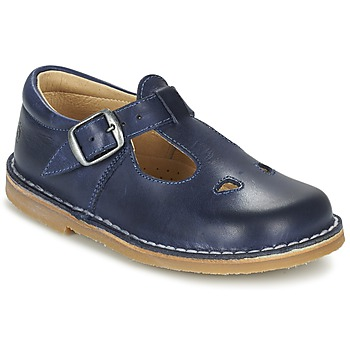 Shoes Children Ballerinas Citrouille et Compagnie GLARCO Blue