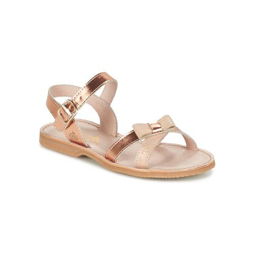 Shoes Girl Sandals Citrouille et Compagnie JISCOTTE Bronze