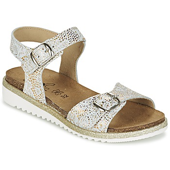 Shoes Girl Sandals Citrouille et Compagnie GUAFRETTE Gold