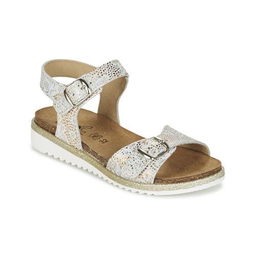 Shoes Girl Sandals Citrouille et Compagnie GUAFRETTE Gold