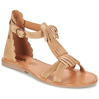 Shoes Girl Sandals Citrouille et Compagnie GAMELA CAMEL