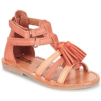 Shoes Girl Sandals Citrouille et Compagnie GOFARO Peach