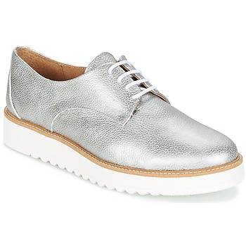 Shoes Women Derby shoes Casual Attitude GEGE Silver