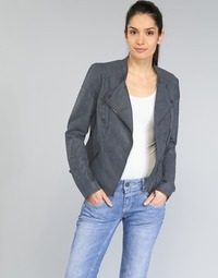 material Women Leather jackets / Imitation le Only AVA Marine