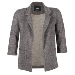 material Women Jackets / Blazers Only CAROLINE Grey