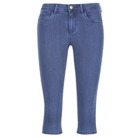 material Women cropped trousers Only RAIN KNICKERS Blue / MEDIUM