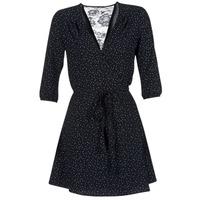 material Women Short Dresses Only NOVA LACE Black