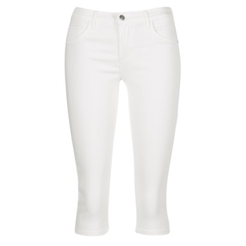 material Women cropped trousers Only RAIN REG White