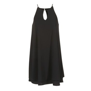 material Women Short Dresses Only MARIANA Black