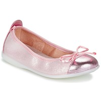 Shoes Girl Ballerinas Citrouille et Compagnie GRAGON Pink / Glitter