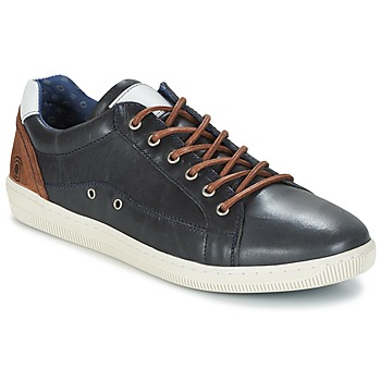 Shoes Men Low top trainers Casual Attitude GIEVE Blue