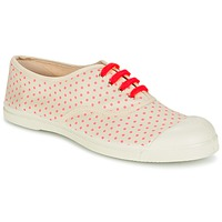 Shoes Women Low top trainers Bensimon TENNIS MINIPOIS Ecru / Pink