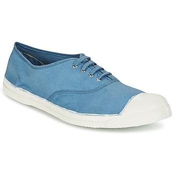 Shoes Men Low top trainers Bensimon TENNIS LACET Blue