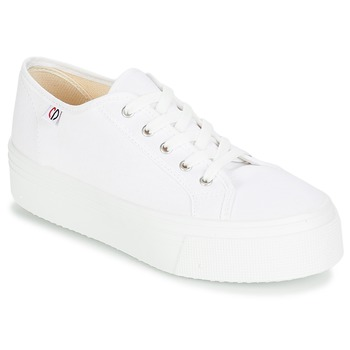 Shoes Women Low top trainers Yurban SUPERTELA White