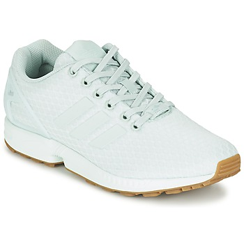 Shoes Women Low top trainers adidas Originals ZX FLUX Green