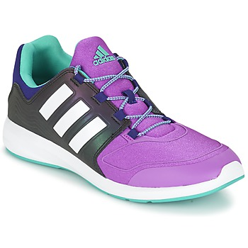 Shoes Children Low top trainers adidas Performance S-FLEX K Black / Violet