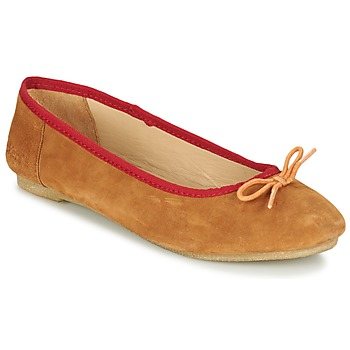 Shoes Women Ballerinas Kickers BAIE Brown / Clear / Orange