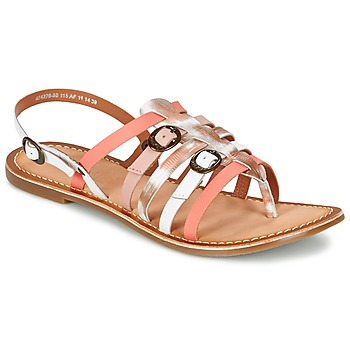 Shoes Women Sandals Kickers DIXMILLE Silver / Pink / White