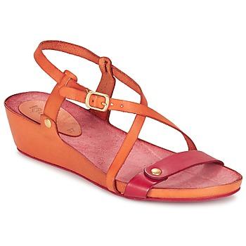 Shoes Women Sandals Kickers TASTE Orange / Red