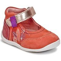 Shoes Girl Ballerinas Kickers BIMAMBO Orange / Fuschia / Pink
