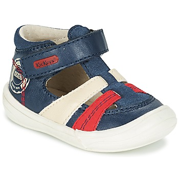 Shoes Boy Sandals Kickers ZOHAN Marine / Red