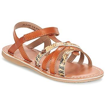 Shoes Girl Sandals Kickers FARAH CAMEL