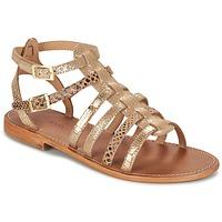 Shoes Women Sandals Les Tropéziennes par M Belarbi BAILLE Gold