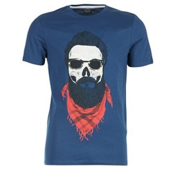 material Men short-sleeved t-shirts Jack & Jones TRICK ORIGINALS MARINE