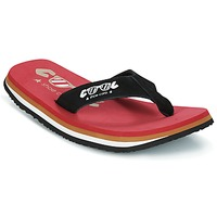 Shoes Men Flip flops Cool shoe ORIGINAL Red / Black