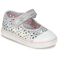 Shoes Girl Ballerinas Pablosky MEZINILE Silver