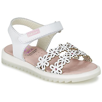 Shoes Girl Sandals Pablosky COULOIME White