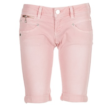 material Women Shorts / Bermudas Freeman T.Porter BELIXA NEW MAGIC COLOR Pink