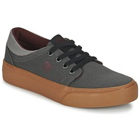 Shoes Children Low top trainers DC Shoes TRASE TX B SHOE XSSR Grey / Red