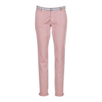 material Women 5-pocket trousers Esprit HOUISSA Pink