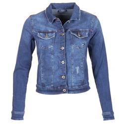 material Women Denim jackets Esprit CROVETTA Blue / MEDIUM