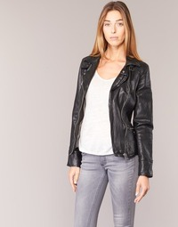 material Women Leather jackets / Imitation le Oakwood VIDEO Black
