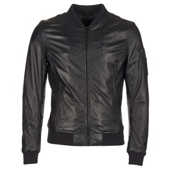 material Men Leather jackets / Imitation le Oakwood 62354 Black
