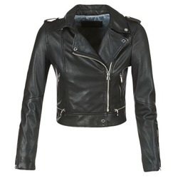 material Women Leather jackets / Imitation le Oakwood YOKO Black
