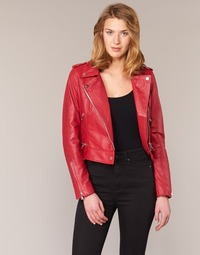material Women Leather jackets / Imitation le Oakwood YOKO Red