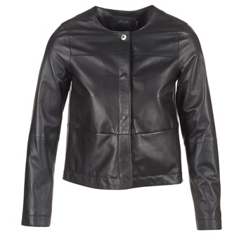 material Women Leather jackets / Imitation le Oakwood 62254 Black