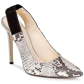 Shoes Women Court shoes Bata TALL Grey / Serpent